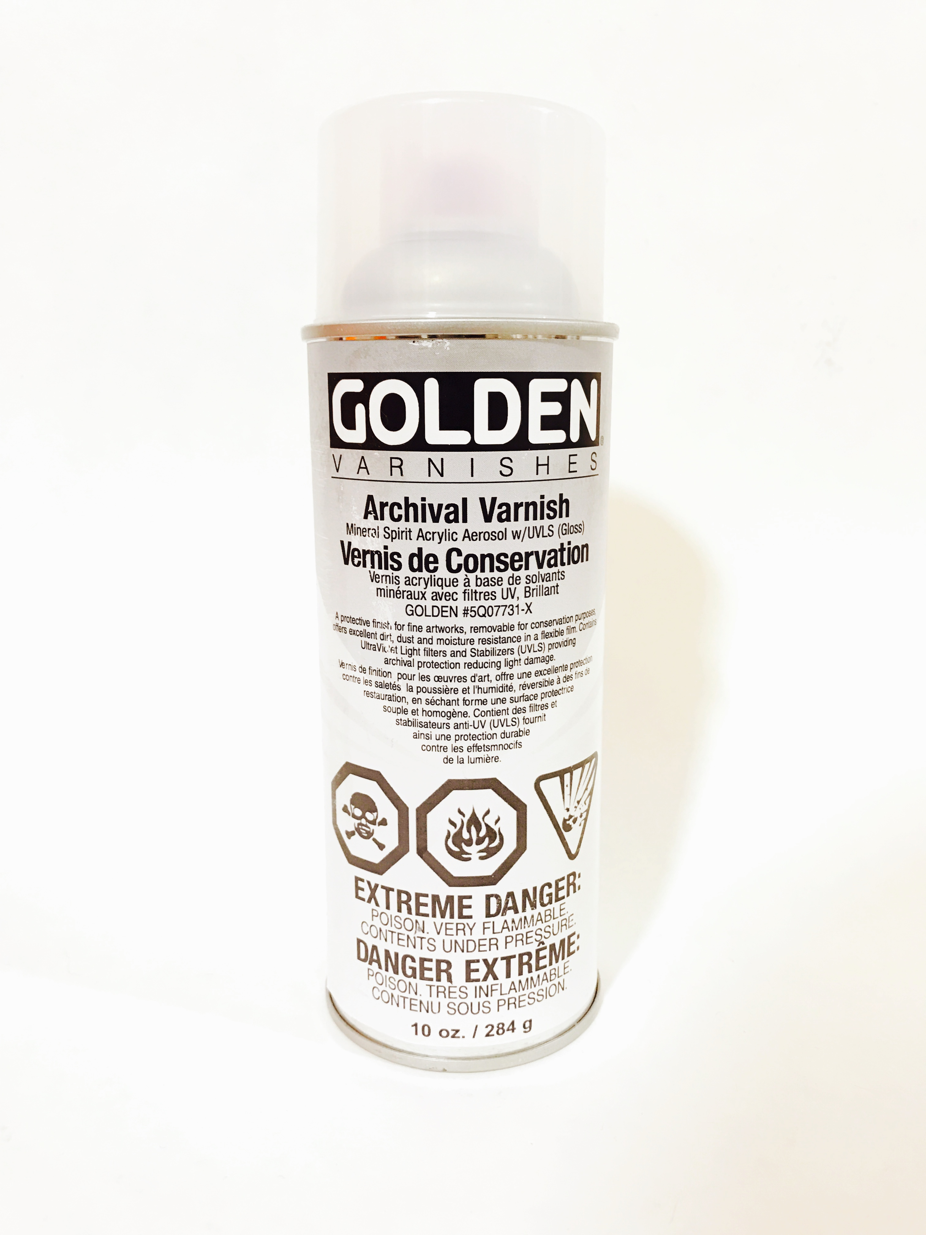Golden Varnish For Acrylic Paintings