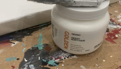 Best Way To Prime a Canvas For Acrylic Painting with Gesso