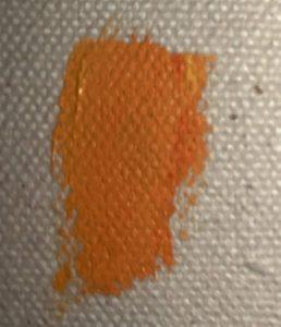 how to mix orange paint