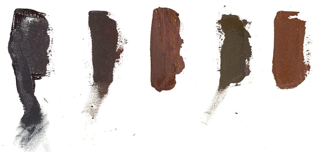 what colors make brown